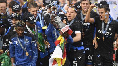 Herbeleef het verlies, máár ook de huldiging van landskampioen Club Brugge