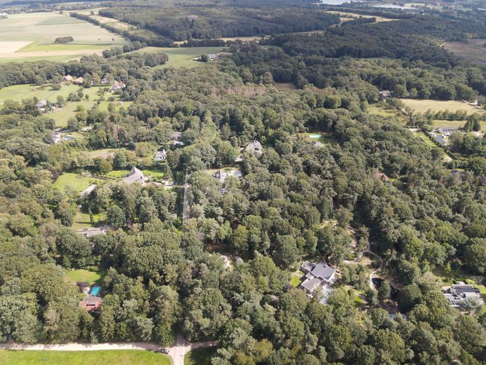 De wijk de Bisselt van bovenaf.