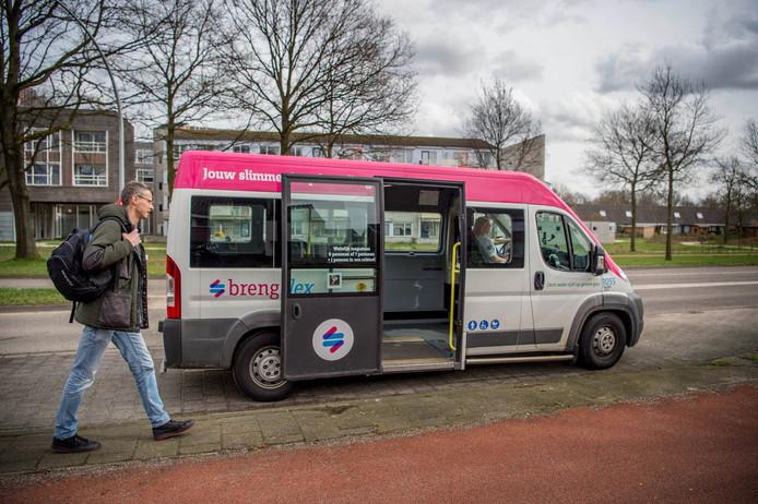 Een Breng Flex Bus in Wijchen.