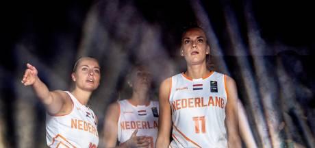 Bossche zusjes Bettonvil winnen en verliezen met basketbalsters op WK 3x3