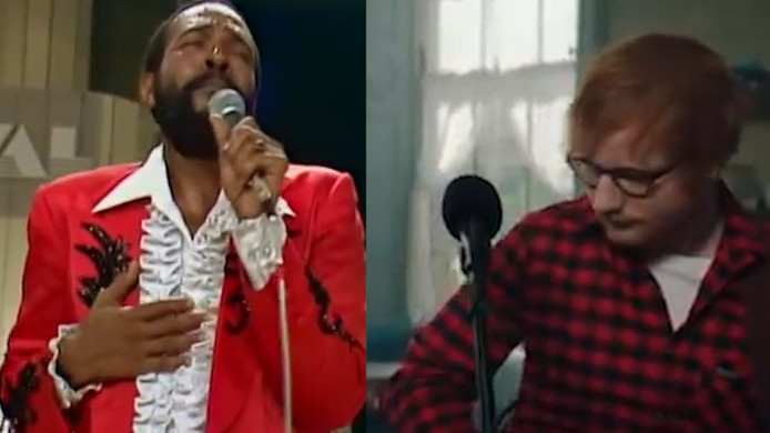 Marvin Gaye et Ed Sheeran