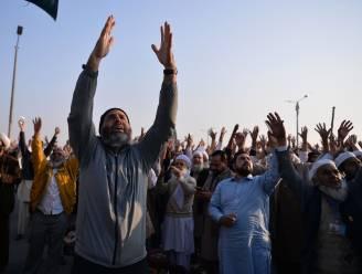 Protest in Pakistan beëindigd na vertrek van minister