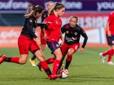 FC Twente vrouwen op eigen veld onderuit