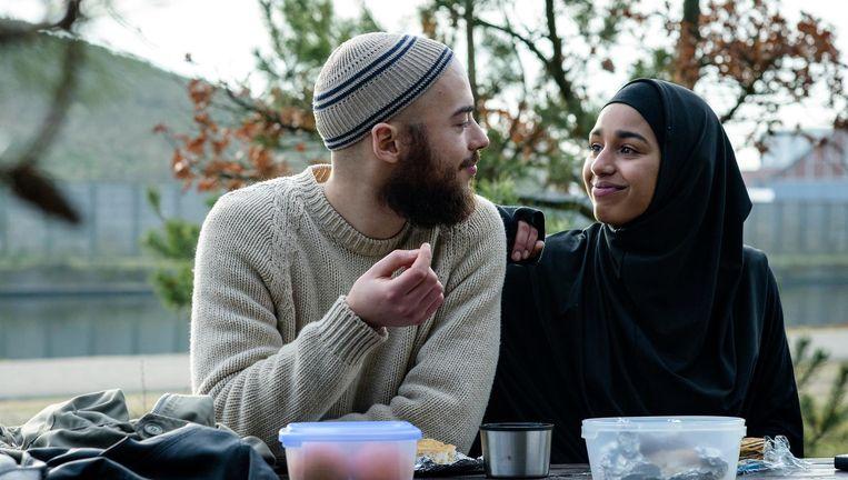 De film vertelt over een achttienjarig moslimmeisje uit Amsterdam-West dat langzaam radicaliseert omdat ze zich buitengesloten voelt door zowel de samenleving als haar familie. Beeld Pief Weyman