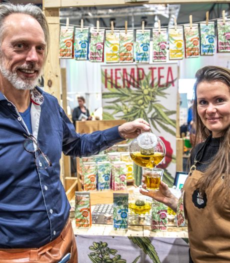 Thee met hennep waar je niet stoned van wordt, en honderden andere biologische producten op Biobeurs 2020 in Zwolle