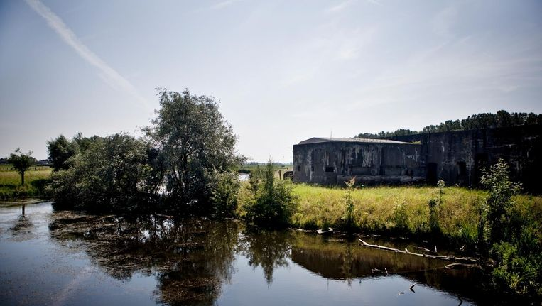 Fort Benoorden bij Spaarndam, 2011. Beeld Julius Schrank
