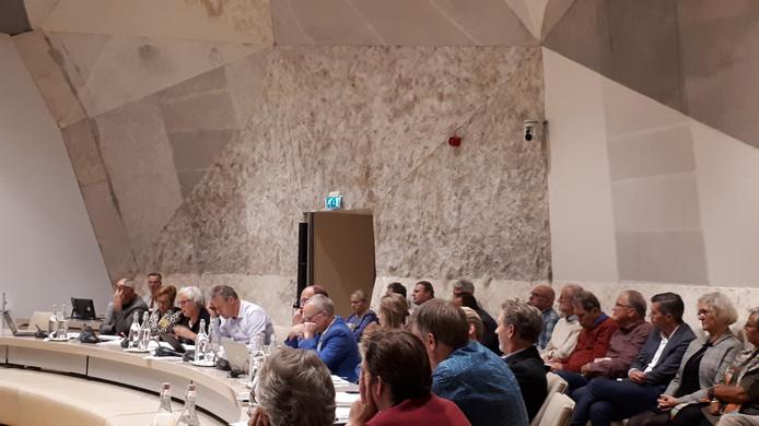 Als het aan Lokaal Hellendoorn ligt worden ook de kunstige stukken vilten wandbekleding uit de raadzaal verkocht  om het enorme gat in de begroting te dichten.
