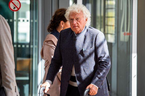 Uroloog Bo Coolsaet in het Antwerpse justitiepaleis (Archiefbeeld).