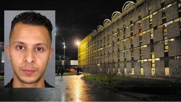 Salah Abdeslam zit in de gevangenis van Fleury-Mérogis
