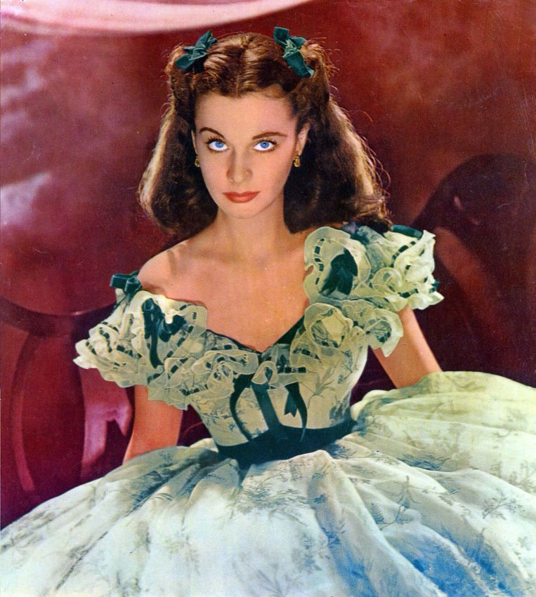Vivien Leigh in Gone with the Wind. Beeld