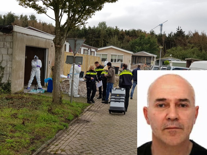 Tijdens het politieonderzoek aan de rand van Steenbergen gaat alles gewoon door in en rond het woonwagencentrum aan de Westlandse Langeweg