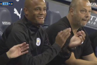 Alle goals uit de afscheidsmatch die Man City organiseerde voor Vincent Kompany