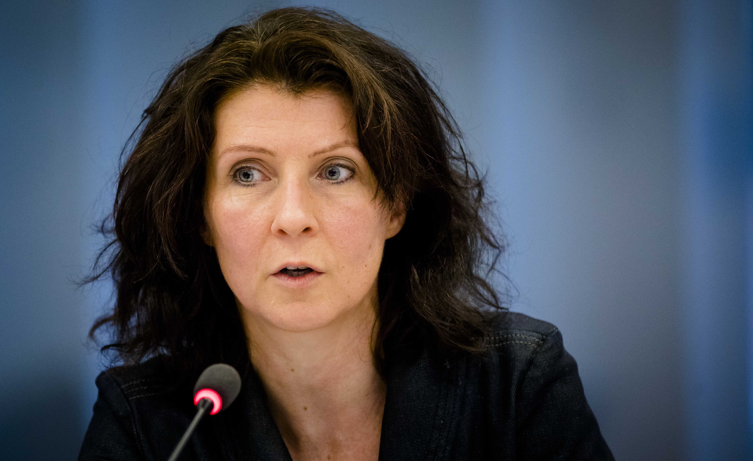 """""""Krimp van de veestapel is onvermijdelijk"""", vindt Kamerlid Esther Ouwehand van de Partij voor de Dieren."""