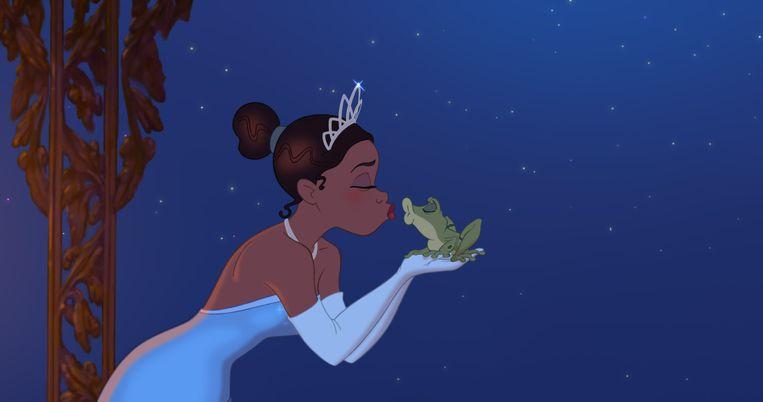 De klassieke tekenfilm 'The Princess and the Frog'. Zendaya zou de hoofdrol in de live action-versie mogen spelen.