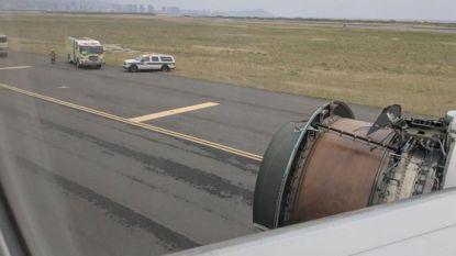 Boeing 777 verliest motoronderdelen op weg naar Hawaï
