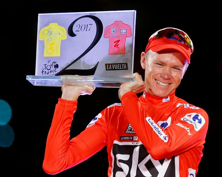 Froome wint de Vuelta Beeld ap