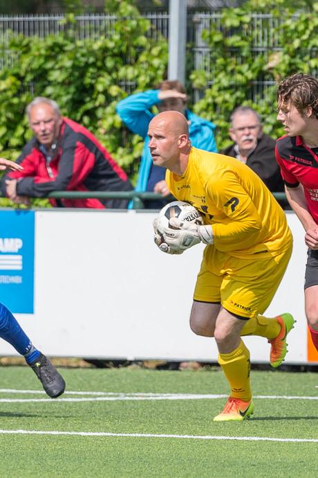 Uitslagen en doelpuntenmakers nacompetitie amateurvoetbal zaterdag