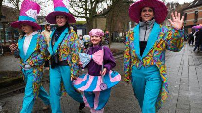 Eerste natte carnavalsstoet in elf jaar