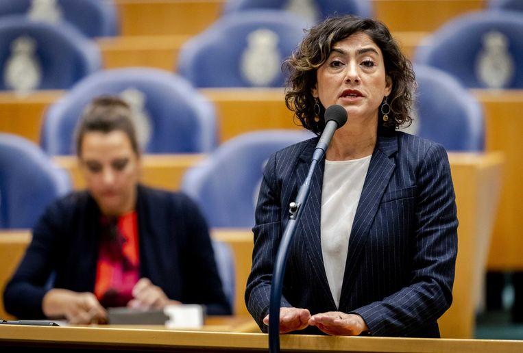 SP-Kamerlid Sadet Karabulut (SP). Beeld ANP/Sem van der Wal