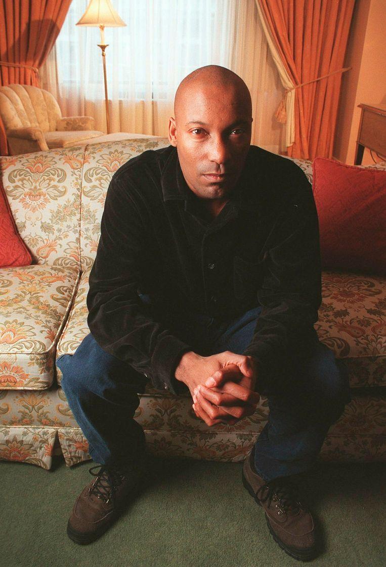 Regisseur en scenarist John Singleton in 1997 in New York. Beeld AP / Todd Plitt