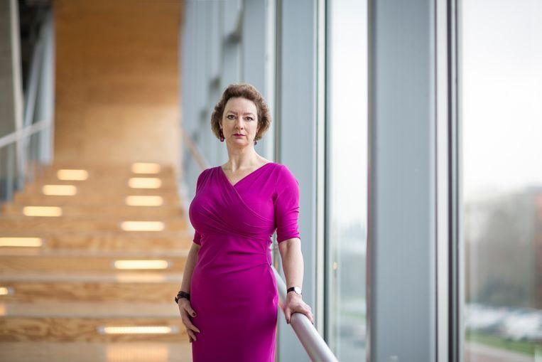 Naomi Ellemers, hoogleraar psychologie en sociale & organisatiepsychologie.  Beeld Ed van Rijswijk