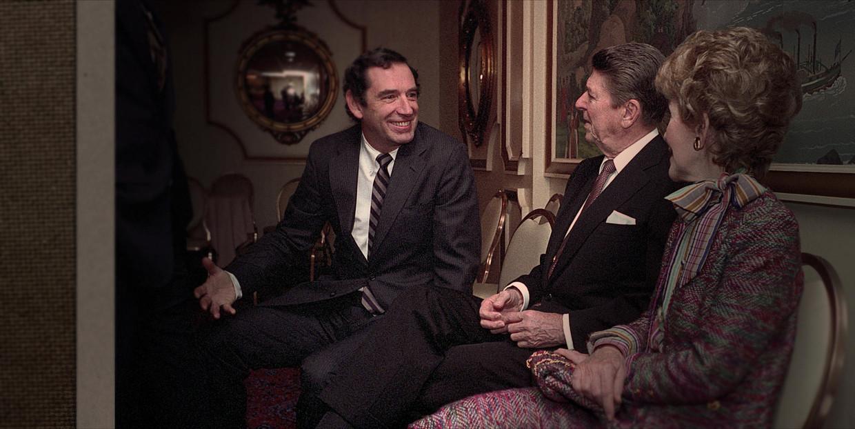 Doug Coe van The Family bij de Reagans.