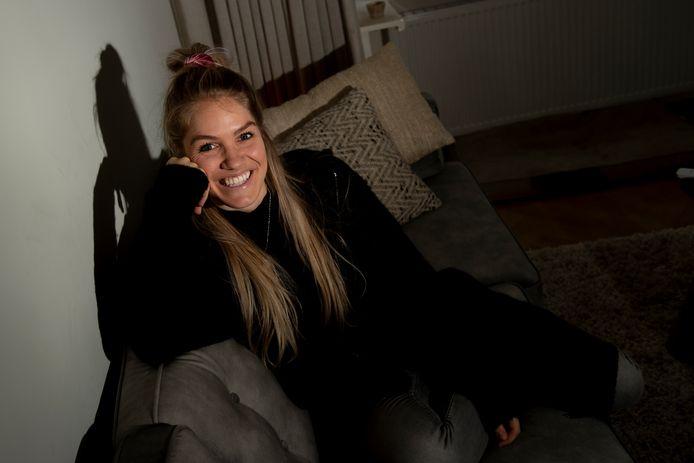 Kirsten Knip is blij thuis te zijn in Apeldoorn.