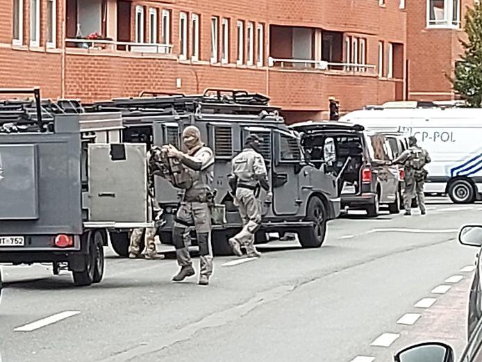 De CGSU, de elite-eenheden van de federale politie.