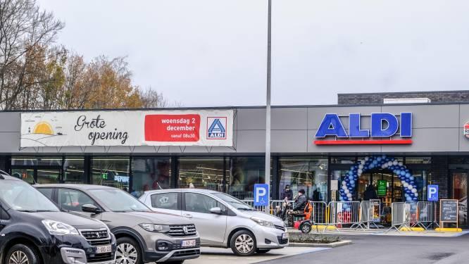 Vernieuwde en uitgebreide Aldi in Heule geopend