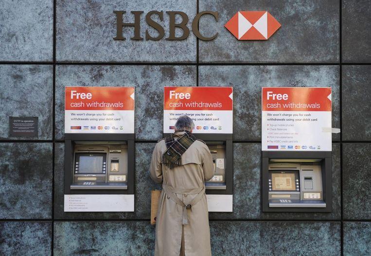 Een HSBC-filiaal in Londen. Beeld epa