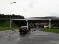 Toch rotonde bij afslag A58 bij Ritthem