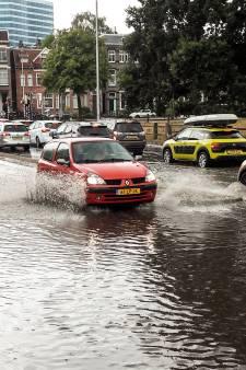Indammen wateroverlast door hoosbui in Arnhem werpt vruchten af