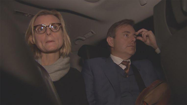 Bart De Wever en zijn vrouw