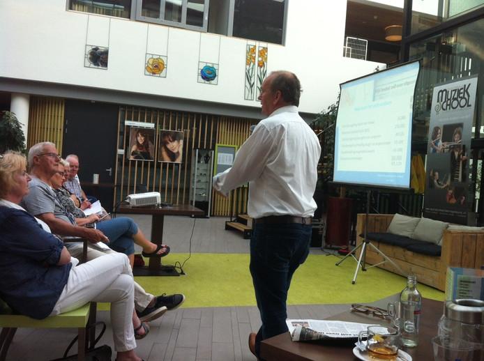 Paul Hilgers vertelt over de financiële regeling.