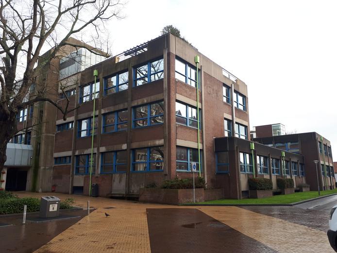 Het voormalig GAK-gebouw aan de Van de Spiegelstraat in Goes.