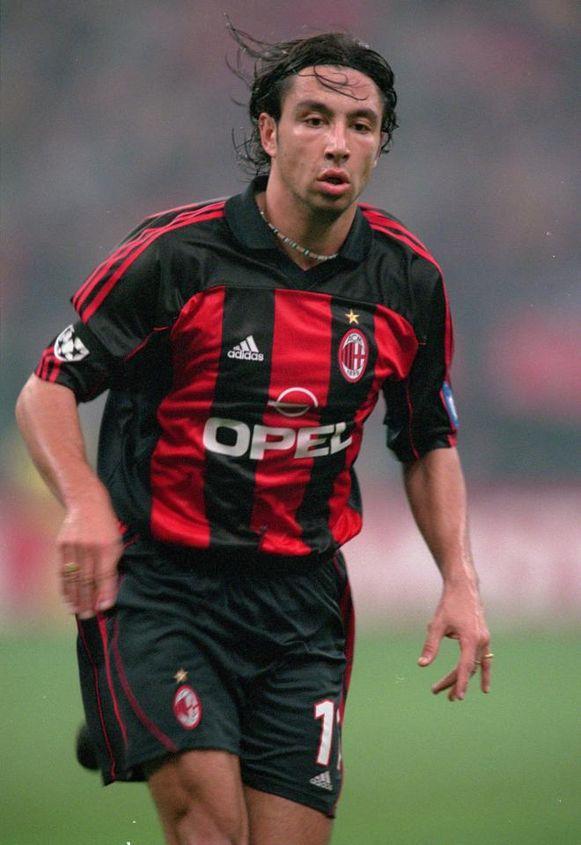 José Mari in het shirt van de rossoneri.