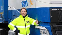 """Caroline (38) strijdt om titel van 'meest gepassioneerde vrachtwagenchauffeur': """"Elke dag is een nieuwe uitdaging"""""""