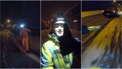 """Jens regelt """"een dikke 4x4"""" en geniet met snowboard van eerste sneeuw in Erpe-Mere"""