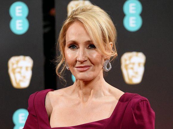 De Britse auteur J.K. Rowling.