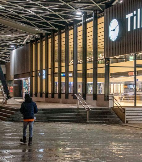 Avondklok zorgt voor spookachtige Tilburgse binnenstad