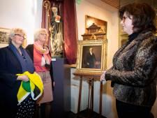 Nazaten schenken schilderij: 'Na 200 jaar is burgemeester Jasper de Bruijn terug in Geertruidenberg'