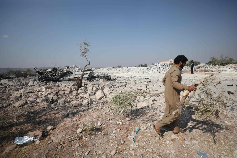 De geheime missie had plaats in het noordwesten van Syrië in de provincie Idlib.