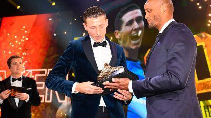Club Brugge opnieuw boven: Hans Vanaken pakt voor tweede jaar op rij de Gouden Schoen