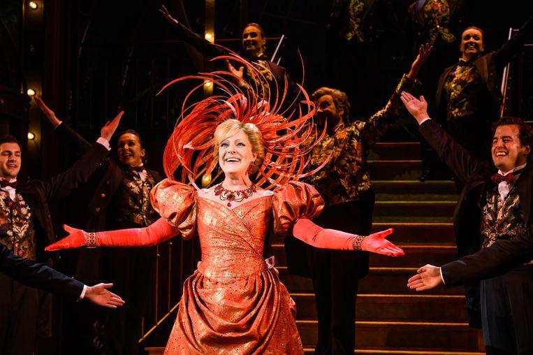 Simone Kleinsma straalt als Dolly. Beeld Roy Beusker/Annemieke van der Togt