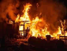 Opnieuw stacaravan uitgebrand op camping in Doornspijk