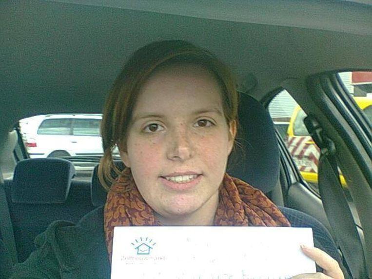Anne-Sophie Vanlerberghe vond gisteren 25 euro in Zelfbouwmarkt Ninove.