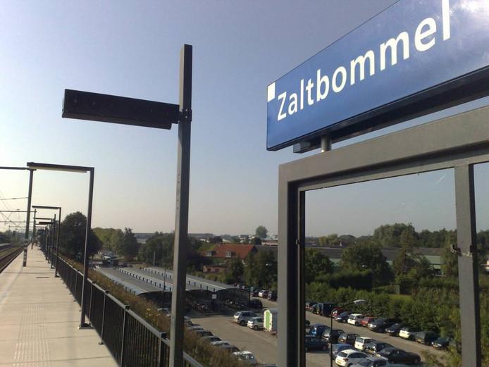 Het station van Zaltbommel.