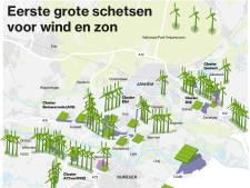 Veel windmolens in Betuwe, Arnhem ontzien in eerste schetsen