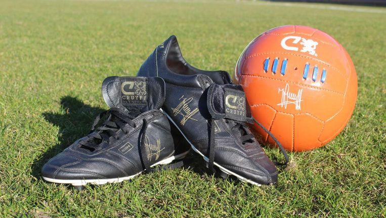 Voetbalschoenen Johan Cruijff Geveild Voor Goed Doel Het