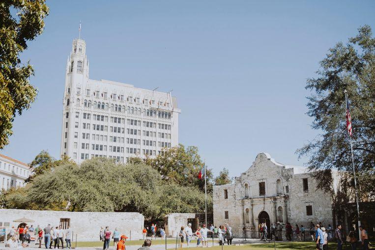 Alamo, San Antonio. Beeld Haley Phelps